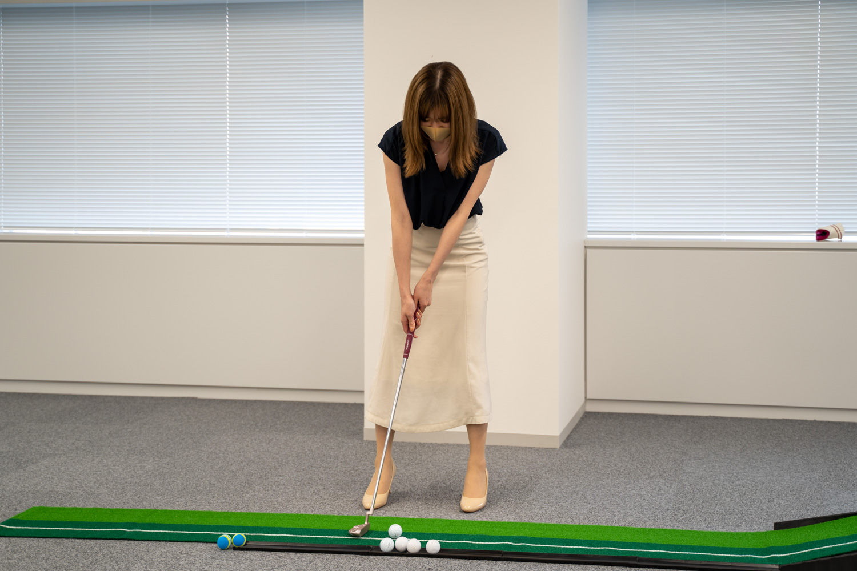 オフィスツアー ゴルフ パター