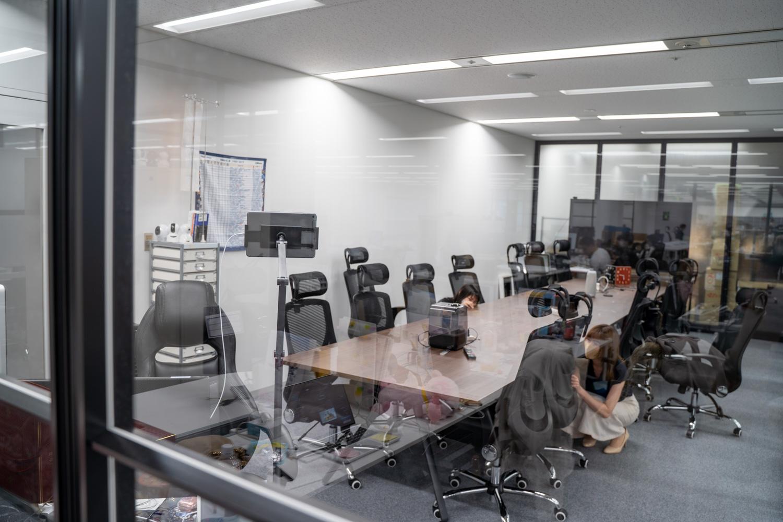 オフィスツアー 社長室