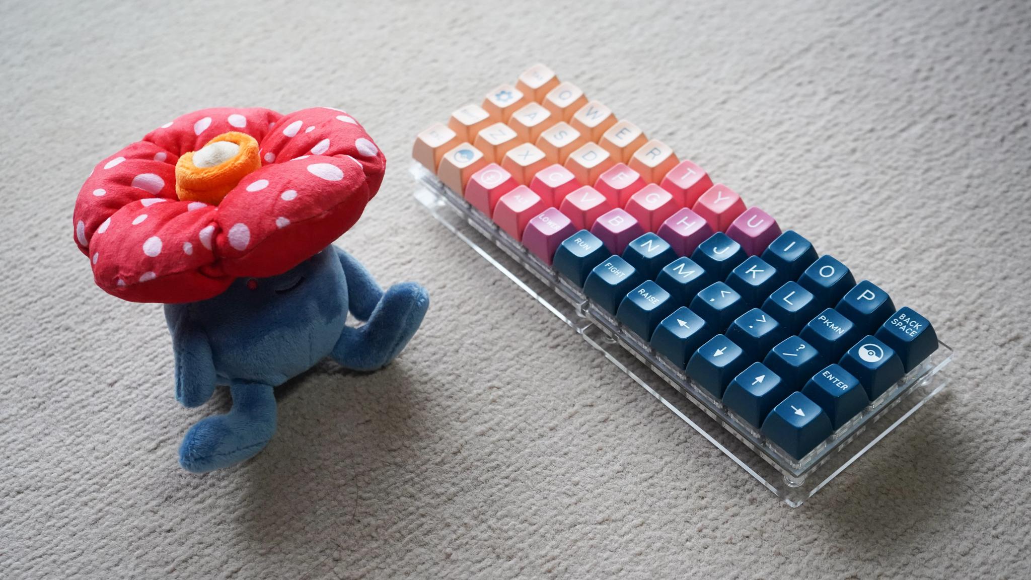 周平さんキーボードの写真